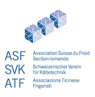 Logo ASF - Association Suisse du Froid Section romande